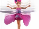 遥控感应小飞仙芭比娃娃感应飞天小仙女灯光音乐爆款玩具厂家直销