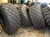 供应铲运车钢丝轮胎菠萝花纹23.1-26