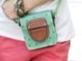 包盖式女包2013韩国新款水果包圆筒背包抽绳单肩包荔枝纹斜挎包