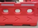 佛山塑料水马 市政临时施工分道水马围挡隔离墩塑料围挡交通设施
