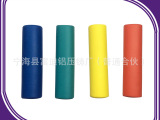 供应体育健身器材NBR橡塑发泡管套 EVA光面耐磨海绵护手套