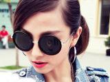 特价韩国vintage墨镜大圆形眼镜太子镜可爱圆框太阳眼镜蛤蟆镜