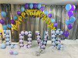 北京彩糖同城气球生日派对,宝宝宴寿宴策划,求婚装饰,婚礼婚房