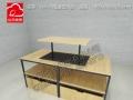 KM服装货架,miniso名创货架,家具展柜,饰品店货架