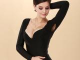 【超柔】厂家直销塑身美体保暖内衣托胸收腹长袖保暖衣