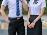 天河区夏季男装职场男性工作服专业定制中心,专业做短袖衬衫