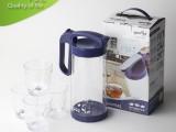 626花叶套装水壶 冷水壶套装 茶壶塑料套装 塑胶果汁壶水壶