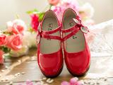 童鞋2015新款女童单鞋时尚韩版亮皮公主鞋百搭女潮鞋