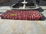 灌装干粉灭火器 天津灭火器换粉厂家 维修各种灭火器