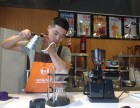 学习咖啡技术冲花造型现磨咖啡的培训机构有吗