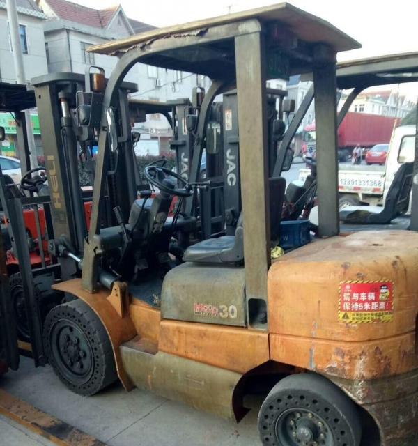 转让 叉车合力合力3吨叉车出售个人一手干活车