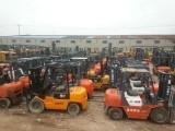 出售各品牌二手3吨5吨8吨10吨叉车可送货