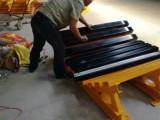 HCC1200矿用皮带缓冲床 防物料洒落缓冲床价格