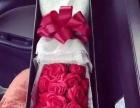 高端定制 七夕玫瑰花礼盒 全程速递 支持外地发货