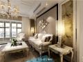 南京华美厚重设计理念-金地自在城装修-南京大户型简欧设计