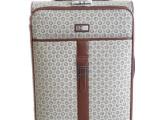 丹皮恩新款pu万向轮拉杆箱行李箱旅行箱托运箱24寸钟表