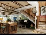 龙湖原著顶跃 美式乡村风格240 -美的家装饰公司