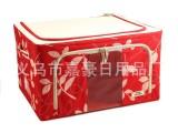 厂家直销  600D优质绿叶款牛津布 可视收纳箱/百纳箱/收纳盒
