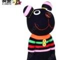 嘿嘿熊【响鱼】袜子娃娃手工diy创意玩偶