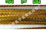 1mm 金色包芯线无弹性 立体绣金银线 香包香袋线 吊牌粒线绳400米