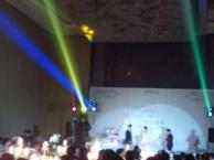 今和会展公司婚庆拱门布置 背景板 音响灯光等布展