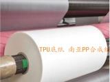 进口台湾南亚PP合成纸TPU底纸标签纸钟表面纸复合卷装塑胶纸