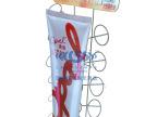厂家定制超市h油铁线圈展示挂架,异形铁线架
