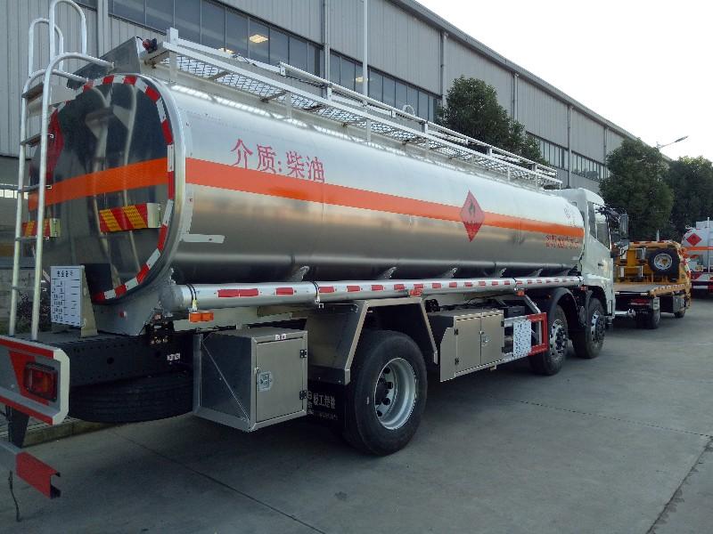 流动加油车运油车铝合金油罐车出售价格优惠质量保证