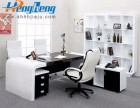 板式办公桌BX007-横衡 办公家具