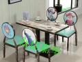 天津办公家具6人餐桌椅,简易餐桌椅,天津圆餐桌椅