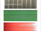 【厂家直销】条纹橡胶板/绿色/红色绝缘橡皮/黑色防滑减震垫块