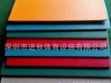 深圳PVC地板材料 红色荔枝纹PVC地板 运动场地地板地胶 材料