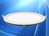 led超薄圆形面板灯灯具配件 高档酒店工程18w白色铝质面板灯套