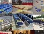 蚌埠出租铁马护栏 玻璃展柜 桌椅板凳租赁