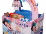 堆头纸货架厂家设计生产苏菲卫生巾纸促销展示架