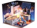 弘达手工制作diy模型玩具创意礼物 diy小屋批发 带你看星星