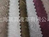 经销供应压花pu革 pu革面料 PU服装革 沙发 软包人造pu革