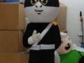 哆啦A梦卡通服装吉祥物订做