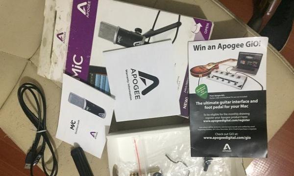 Apogee mic 96k k歌录音话筒