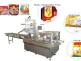 山东地区馒头包装机枕式全自动多功能食品面包月饼饼干包装机