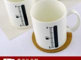 现货混批-加油站咖啡杯 变色杯 创意马克杯 感温渐变色杯 可定制