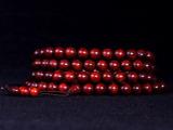 印度小叶紫檀 高密度超油润带金星108颗佛珠手链 男女款精品手串