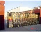 天津市不锈钢电动伸缩门安装