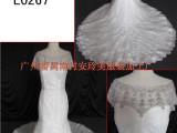 L0267闪耀奢华婚纱 经典畅销鱼尾礼服 欧美典雅婚礼服饰 外贸