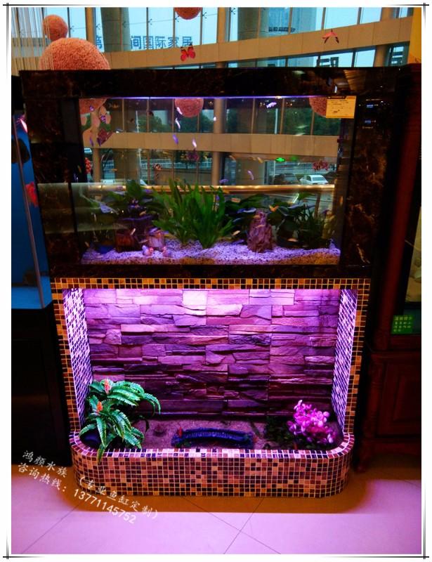 全无锡鱼缸定做酒店别墅观赏鱼缸定做