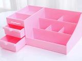 大号塑料护肤品化妆品收纳盒  抽屉梳妆台桌面收纳盒  化妆盒