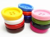 大纽扣 小纽扣彩色多样树脂纽扣 扣子 厂家批发多规格彩色纽扣