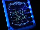 LED荧光留言板 发光写字板 电子广告板 浪漫礼品 生日礼品