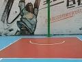 纯环氧树脂地坪 复古 艺术水墨画地坪 硅pu球场