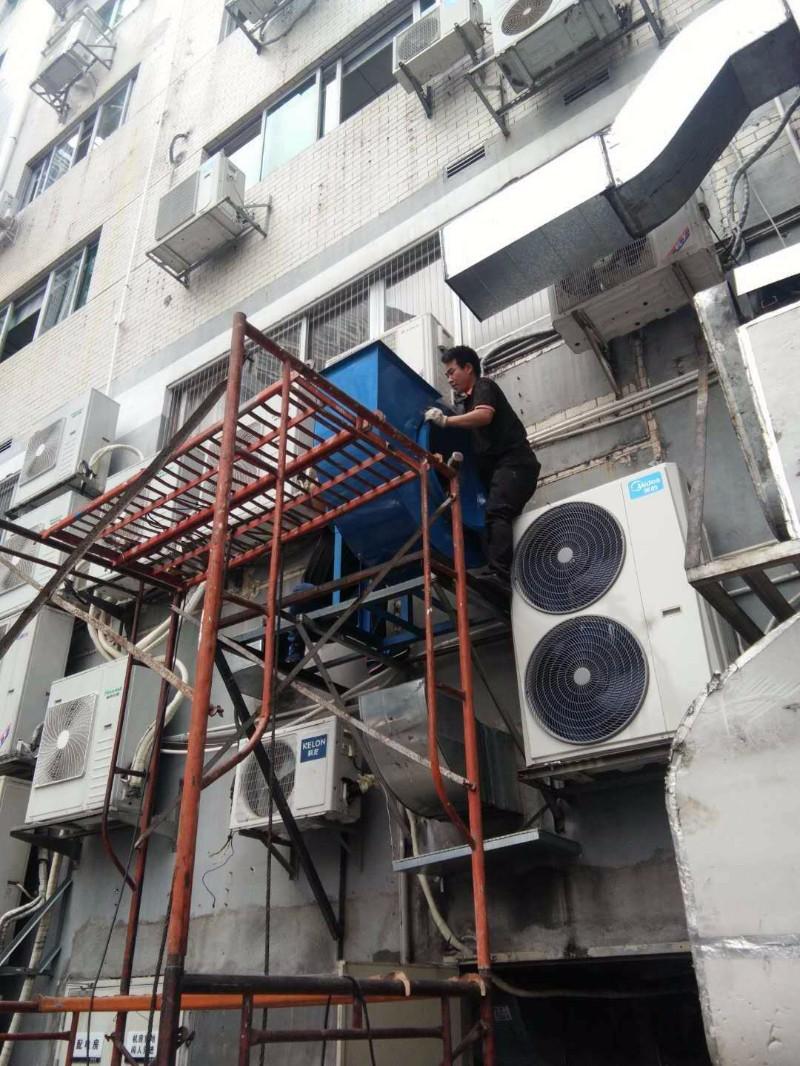 厨房通风管道排烟设计安装工厂抽风系统安装排烟净化器安装